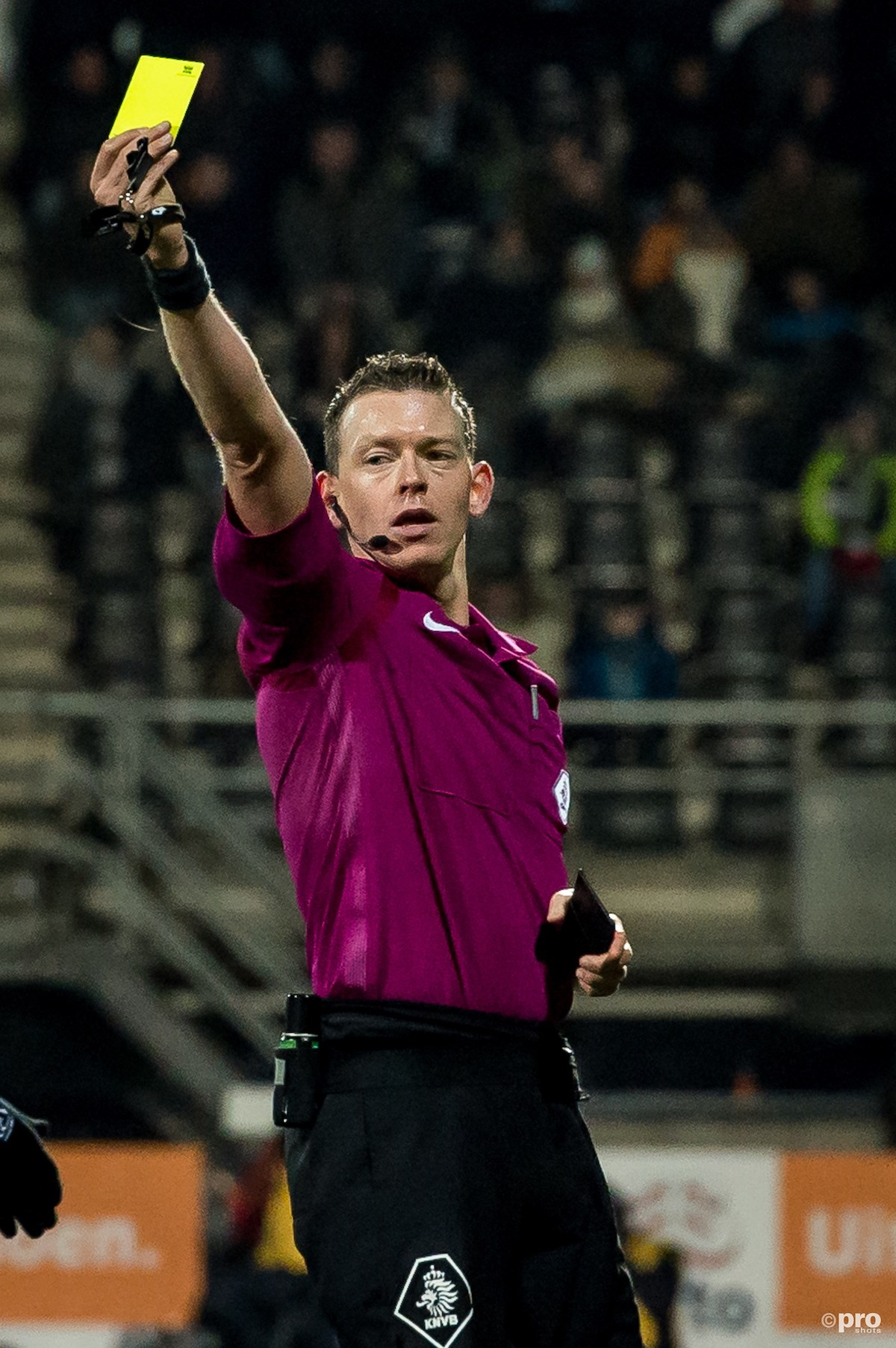 Allard Lindhout scheidsrechter Roda JC Kerkrade - FC Utrecht