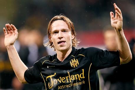 Guus Hupperts ook vriend van de Roda JC Jeugdopleiding